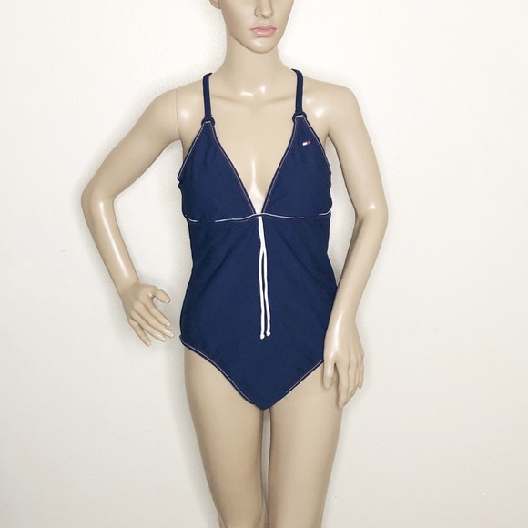 Tommy Hilfiger Other - Tommy Hilfiger One Piece Swimsuit Navy Blue